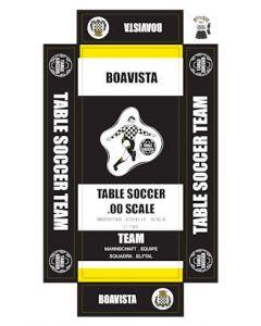 BOAVISTA. self adhesive team box labels.
