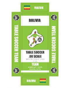 BOLIVIA. self adhesive team box labels.