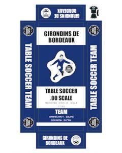 BORDEAUX. self adhesive team box labels.