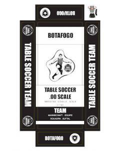BOTAFOGO. self adhesive team box labels.