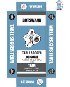 BOTSWANA. self adhesive team box labels.