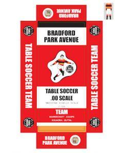 BRADFORD PARK AVENUE. self adhesive team box labels.