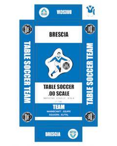 BRESCIA. self adhesive team box labels.