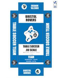 BRISTOL ROVERS. self adhesive team box labels.