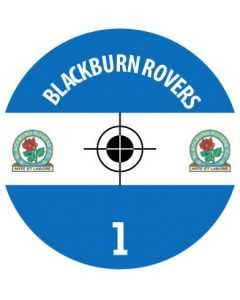 BLACKBURN DECALS. (24 base stickers with badge, name & numbers)