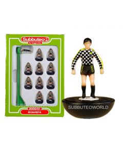 BOAVISTA. Retro Subbuteo Team. Modelled on the LW Figure & Bases From the 1980's.