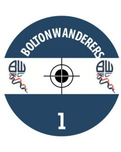 BOLTON DECALS. (24 base stickers with badge, name & numbers)