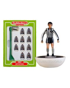 BOTAFOGO. Retro Subbuteo Team. Modelled on the LW Figure & Bases From the 1980's.