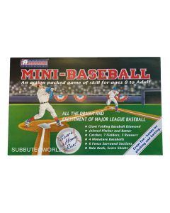 1996 ATLANTICA MINI BASEBALL. Invented By Peter Adoph. Includes Mailing Box, Never Been Used, Mint Condition. Very Rare.
