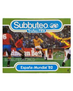 1982 ESPANA-MUNDIAL FIFA WORLD CUP EDITION. Very Rare Spanish Edition. Includes FIFA World Cup Trophy.