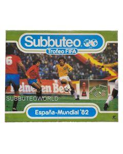 1982 ESPANA-MUNDIAL FIFA WORLD CUP EDITION. Includes FIFA World Cup Trophy. Very Rare Spanish Edition