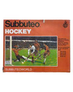 SUBBUTEO TABLE HOCKEY. 1980 TO 1982.