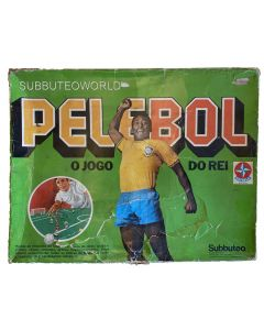 1979 PELEBOL BOX SET. Made By Estrela Under Licence From Subbuteo, Exclusive To Brazil. Very Rare.