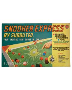 1973-78 SNOOKER EXPRESS BY SUBBUTEO. Very Rare, Excellent Condition & Complete.