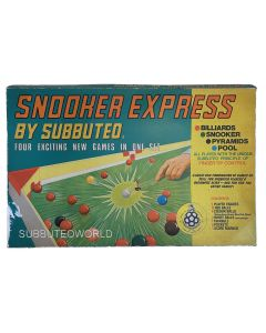 1973-78 SNOOKER EXPRESS BY SUBBUTEO. Very Good Condition & Complete.