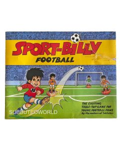1981-82 SPORT BILLY. World Cup 1982 Subbuteo Set. Sport Billy The Official Mascot of The 1982 FIFA World Cup.