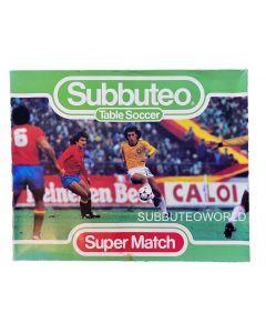 SUPER MATCH SET. Very Rare & Includes, 4 Teams, Goals, Balls, Rules, A Pitch & Scoreboard.