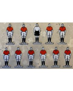 CELLULOID TEAM REF 01. MANCHESTER UTD. ARSENAL. WALES. Mint Condition, No Bases.