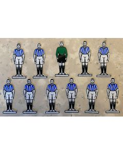 CELLULOID TEAM REF 03. WEST BROMWICH ALBION. HUDDERSFIELD. Mint Condition, No Bases.