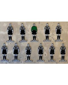 CELLULOID TEAM REF 08. NEWCASTLE UTD. DUNFERMLINE. Mint Condition, No Bases.