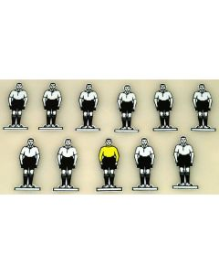 CELLULOID TEAM REF 10. DERBY. FULHAM. mint, no bases.