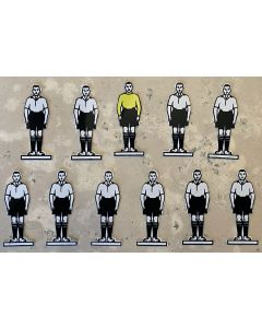 CELLULOID TEAM REF 10. DERBY. FULHAM. Mint Condition, No Bases.