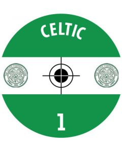 CELTIC DECALS. (24 base stickers with badge, name & numbers)