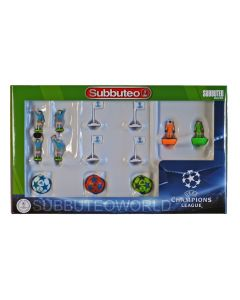 01. THE NEW CHAMPIONS LEAGUE SUBBUTEO ACCESSORY PACK. PAUL LAMOND. Includes: Referees, Linesmen, Corner Flags, Flicking Keepers & Balls.