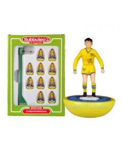 CHIEVO. Retro Subbuteo Team. Modelled on the LW Figure & Bases From the 1980's.