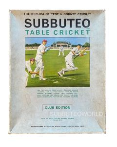1970's SUBBUTEO CRICKET CLUB EDITION.