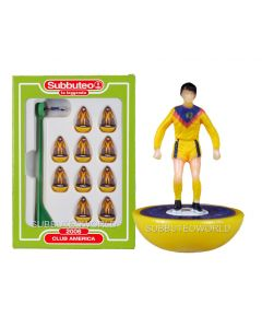 CLUB AMERICA. Retro Subbuteo Team. Modelled on the LW Figure & Bases From the 1980's.
