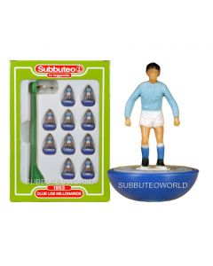 CLUB LOS MILLONARIOS. Retro Subbuteo Team. Modelled on the LW Figure & Bases From the 1980's.