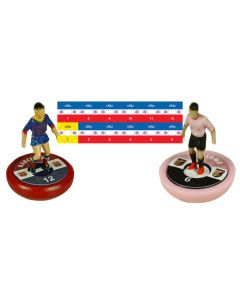CHILE. Vinyl base stickers with team name, badge & numbers.