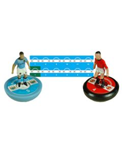 MANCHESTER CITY. Vinyl base stickers with team name, badge & numbers.