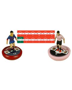 MANCHESTER UTD. Vinyl base stickers with team name, badge & numbers.