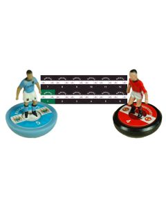 NEWCASTLE UTD. Vinyl base stickers with team name, badge & numbers.