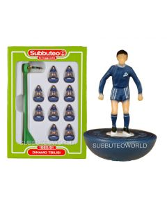 DINAMO TBILISI. Retro Subbuteo Team. Modelled on the LW Figure & Bases From the 1980's.