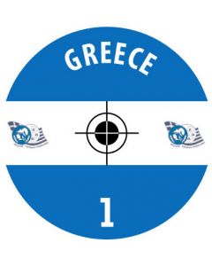 GREECE DECALS (24 base stickers with badge, name & numbers)