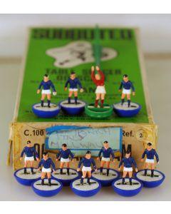 HW002. RANGERS. CARDIFF CITY. SCHALKE 04. JAPAN. Mid 70's HW team, numbered box.