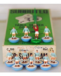 HW005. MANCHESTER CITY. NAPOLI. LAZIO. Mid 70's HW Team, numbered box.