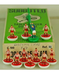 HW052. BAYERN MUNICH. EXCELSIOR. Mid 70's HW team, numbered box. White base, Red Disc.
