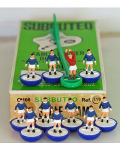 HW119. EVERTON. HUDDERSFIELD. BERMUDA. QUEEN OF THE SOUTH. Late 70's HW team, numbered box.