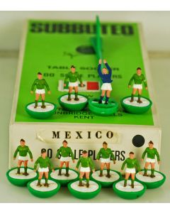 HW157. MEXICO. Early 70's HW Team. Original 1970 Named World Cup Box.