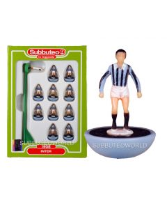 INTER 1908. Retro Subbuteo Team. Modelled on the LW Figure & Bases From the 1980's.
