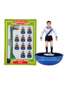 INTER 1964. Retro Subbuteo Team. Modelled on the LW Figure & Bases From the 1980's.