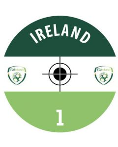 IRELAND DECALS. (24 base stickers with badge, name & numbers)