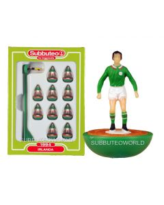 IRELAND. Retro Subbuteo Team. Modelled on the LW Figure & Bases From the 1980's.