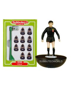 ITALY 1938. Retro Subbuteo Team. Modelled on the LW Figure & Bases From the 1980's.