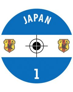 JAPAN DECALS. (24 base stickers with badge, name & numbers)