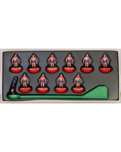 LW003. ATLETICO MADRID. Very Rare SPANISH BORRAS Early 80's Hand Painted LW Team. Numbered box.